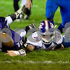 Dixon's Ryan Troutman and G-K's Luke Miller scramble after a Cog's fumble. Dixon recovered the late 2nd half fumble.
