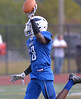 Boubacar Diawara scores for Norristown during the homecoming game against Methacton Oct. 7, 2017. / Bob Raines--Digital First Media