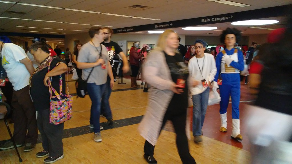 . Betsy Scott � The News-Herald <br> Nyancon 2017 at Lakeland Community College celebrates anime and pop culture. One of the main activities is cosplay, involving attendees dressing as their favorite character from a video game, comic book or cartoon.