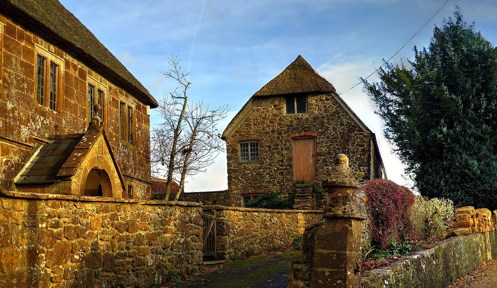 Lovely old buildings in Stoke Abbott