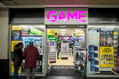 Game and Toy store, Ealing Broadway Shopping Centre, London, United KIngdom