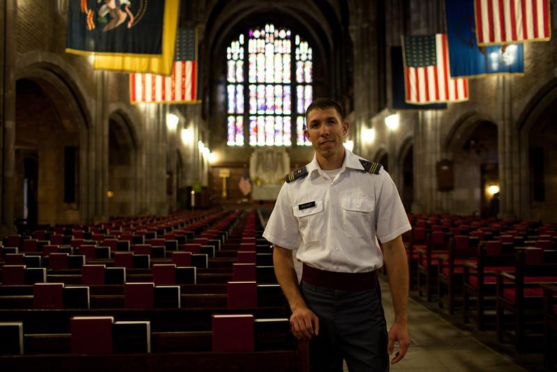 Cadet Jordan Malkoff '13, D4