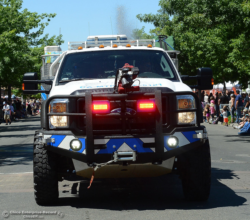 . Mooretown Rancheria Fire Department as Feather Fiesta Days feature a parade, a car show, a chili cook off and more Saturday, May 13, 2017, in downtown Oroville, California. (Dan Reidel -- Enterprise-Record)