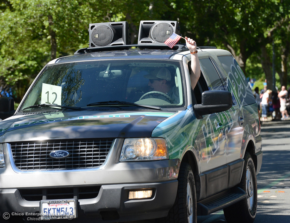 . KPAY 1290 as Feather Fiesta Days feature a parade, a car show, a chili cook off and more Saturday, May 13, 2017, in downtown Oroville, California. (Dan Reidel -- Enterprise-Record)