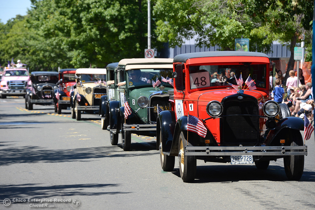 . Model A Club as Feather Fiesta Days feature a parade, a car show, a chili cook off and more Saturday, May 13, 2017, in downtown Oroville, California. (Dan Reidel -- Enterprise-Record)