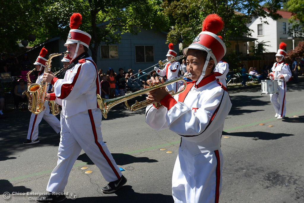 . Feather Fiesta Days feature a parade, a car show, a chili cook off and more Saturday, May 13, 2017, in downtown Oroville, California. (Dan Reidel -- Enterprise-Record)