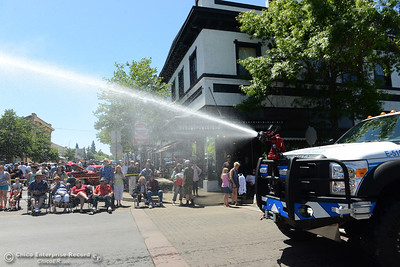 Mooretown Rancheria Fire Department as Feather Fiesta Days feature a parade, a car show, a chili cook off and more Saturday, May 13, 2017, in downtown Oroville, California. (Dan Reidel -- Enterprise-Record)