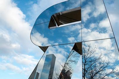 RUN sculpture by Monica Bonvicini, Olympic Park, London, United Kingdom