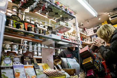 Shop specialising in tea and coffee, Old Compton Street, London, United Kingdom