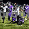 Sam Buckner for Shaw Media.<br /> Grant McConkey gets past the Rochelle defense to score a touchdown on Friday October 11, 2019.