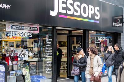 Jessops photo shop on Oxford Street, London, United Kingdom