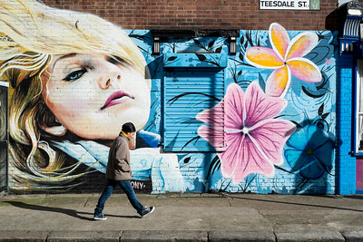 Mural in Hackney, London, United Kingdom