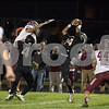 Sam Buckner for Shaw Media.<br /> Manuel Dominguez catches a tipped pass on Friday October 13, 2017.
