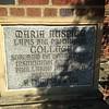 Cornerstone plaque, main building