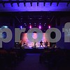 """The main congregation area of Christ Community Church, 2350 Pride Ave. in DeKalb, called """"The Auditorium,"""" features moveable cushioned chairs, not church pews, a stage, lighting, sound equipment and two large screens."""