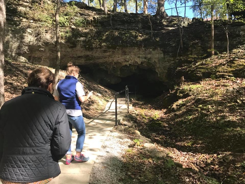 . Fielden Cave is the smaller of the two caves at Civil War Caves.  (Harley Marsh/The News-Herald)