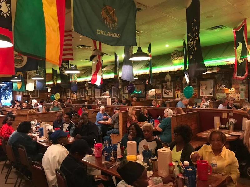 . Lambert\'s is always packed. Be prepared, you might have to wait upwards of an hour and a half. But the wait is worth the experience and the food. (Harley Marsh/The News-Herald)