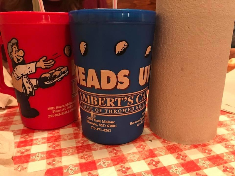 . Lambert\'s drinks come in 1 liter cups that can be purchased at the store inside the restaurant. (Harley Marsh/The News-Herald)