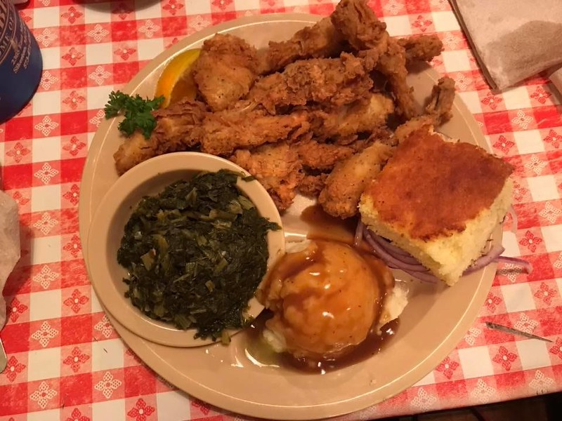 . The frog legs at Lambert\'s are to die for, according to this reporter. (Harley Marsh/The News-Herald)