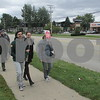 Participants begin walking during the Sondra King Memorial CROP Hunger Walk to raise money for both local food pantries and nonprofit organizations that help fight hunger in third-world countries.