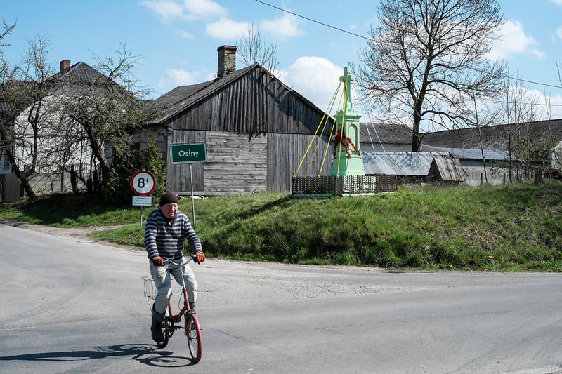 Osiny village, Swietokrzyskie, Poland