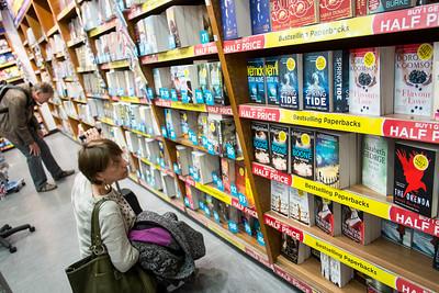 Duty Free shopping, Heathrow airport, London, United Kingdom