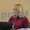 Community Development Director Jo Ellen Charlton talks and shows slides of the Annie Glidden North Revitalization Plan on October 17th during the Planning and Zoning meeting.