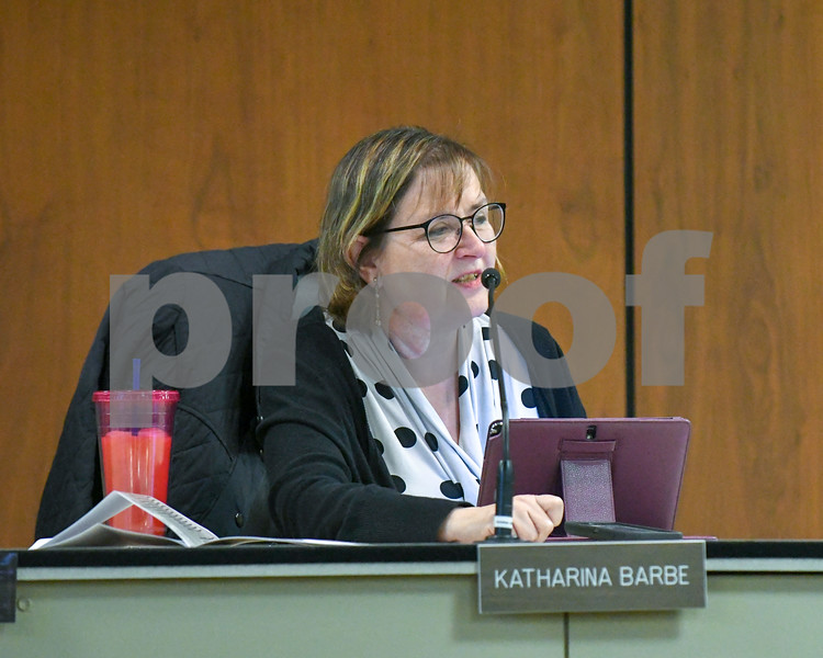 Katharina Barbe had a few comments about the Annie Glidden North Revitalization Plan during dissuasion at the October 17th Planning and zoning meeting.