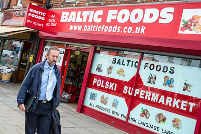 Grocery store selling Polish food, Southampton, United Kingdom