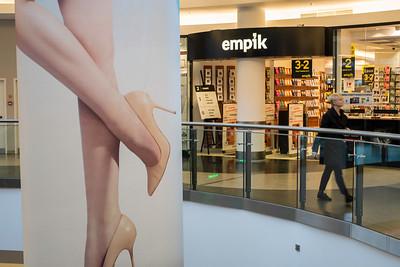 Modern shopping centre, Warsaw, Poland