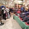 Jonathan Tressler - The News-Herald<br /> Cleveland Indians fans stand in line inside Dick's Sporting Goods at the Great Lakes Mall in Mentor Oct. 19. Hundreds and hundreds of sports fans lined up to buy Indians gear and take advantage of the store's extended hours in honor of the Tribe's 3-0 win in game 5 of the ALCS against Toronto.