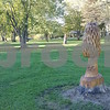 Several sculptures in the park were done by a maintenance worker with the forest preserve, Bob Knuuttila. When dead trees were removed, the workers left the stumps, which Knuuttila then carved with a chainsaw.
