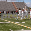 Crystal Lake Central celebrates after securing a 1-0 victory over Dekalb on October 20th for the regional title.