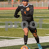 Dekalb Luis Cabral (4) dribbles the ball up field in the first half of the regional title game on October 20th agents Crystal Lake Central