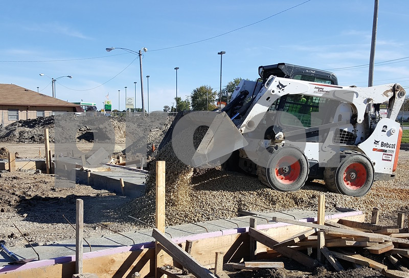 Kevin Solari – ksolari@shawmedia.com<br /> Earlier this month the Sycamore City Council removed the final hurdle for a new Hardee's to go in on DeKalb Avenue. Work has continued on the site since.