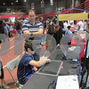 Aimee Barrows for Shaw Media<br /> William Blumenstock, 11, of Naperville plays with a neuroscience and behavior exhibit at STEMfest.