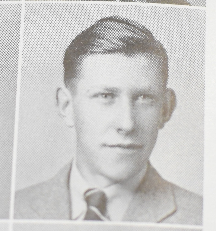 . Robert Fitch\'s 1941 Avon High School yearbook photo.