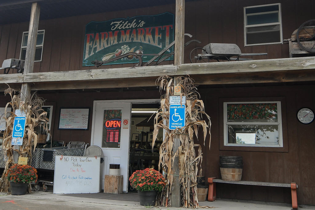 . Fitch\'s Family Market, 4413 Center Road, Avon, has been selling fresh, home grown fruits and vegetables from their own store since the early 1980s. (Eric Bonzar�The Morning Journal)
