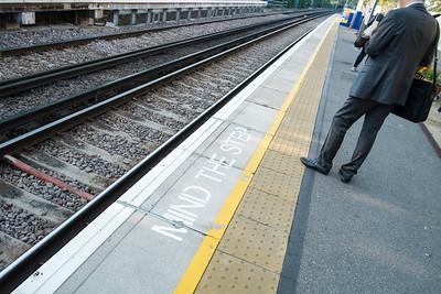 Acton Central overground train station, Acton, London, United Kingdom