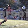 Sam Buckner for Shaw Media.<br /> Tucker Jahns takes a shot on goal on Wednesday October 25, 2017 at Wheaton Academy High School.