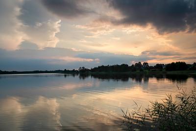 Gieret Lake, Giby, Suwalskie Region, Poland