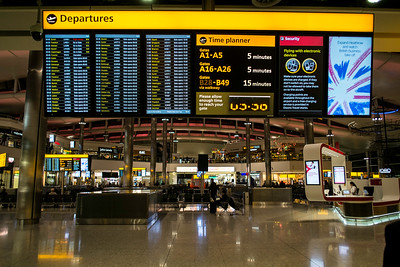 Terminal 2, Heathrow Airport, London, United Kingdom