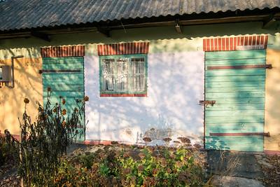 Old farm building, Poland