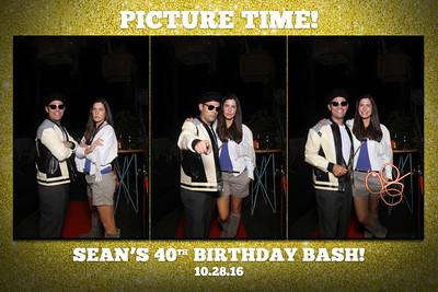 10.28.16 Sean's 40th BirthdayBash