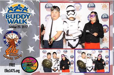 10/29/17 DSAOC Buddy Walk PhotoBooth Photo Cards