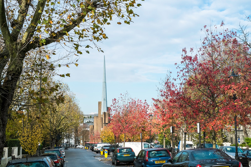 Autumn in Maida Vale, London, United Kingdom