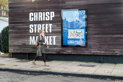 Chrisp Street Market, London, United Kingdom