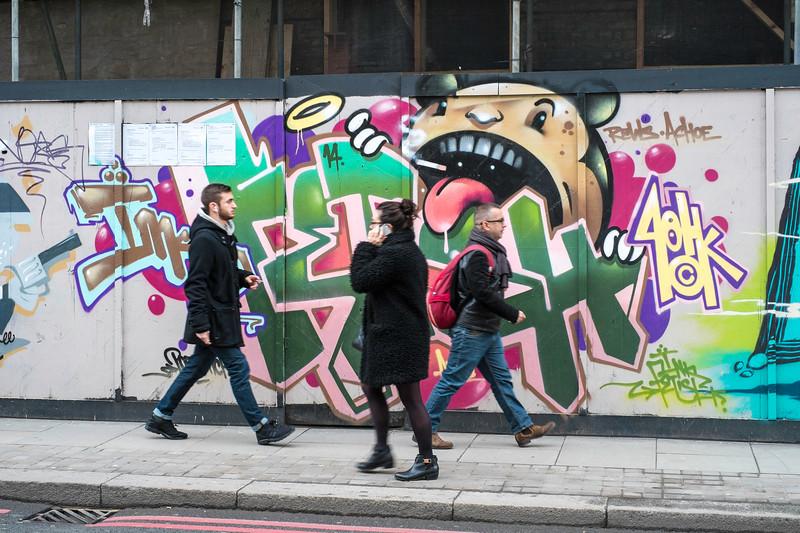 Graffiti, London, United Kingdom