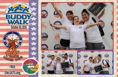 10/30/16 DSAOC Buddy Walk  - Photo Cards