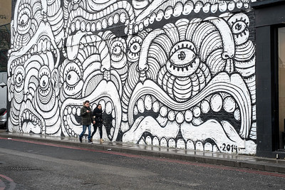 Mural near Shoreditch High Street, , London, United Kingdom
